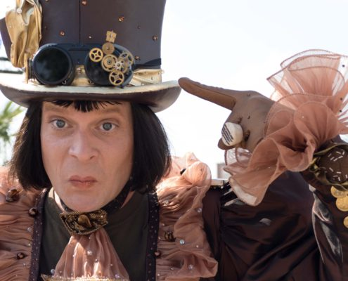 Monsieur Chocolat beim Crazy Sense Festival