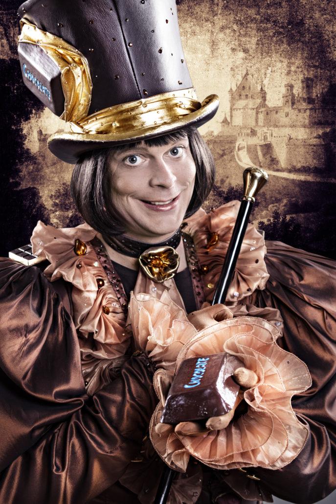 Monsieur Chocolat Portait