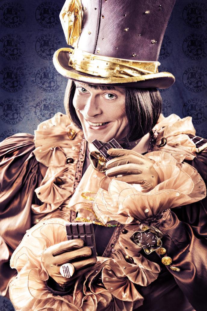Monsieur Chocolat Portrait