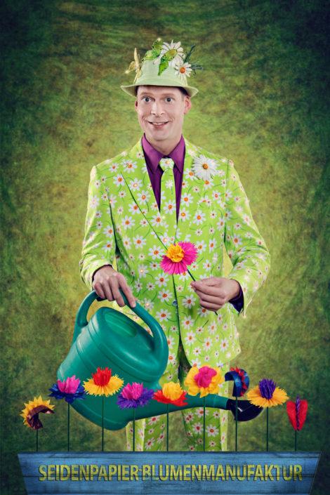 Seidenpapier-Blumenmanufaktur – Christian West