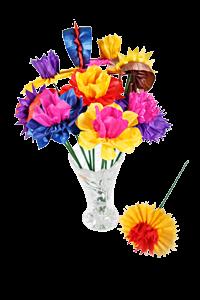 Blumenstrauss Seidenpapier-Blumenmanufaktur