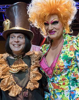 Monsieur Chocolat mit Olivia Jones
